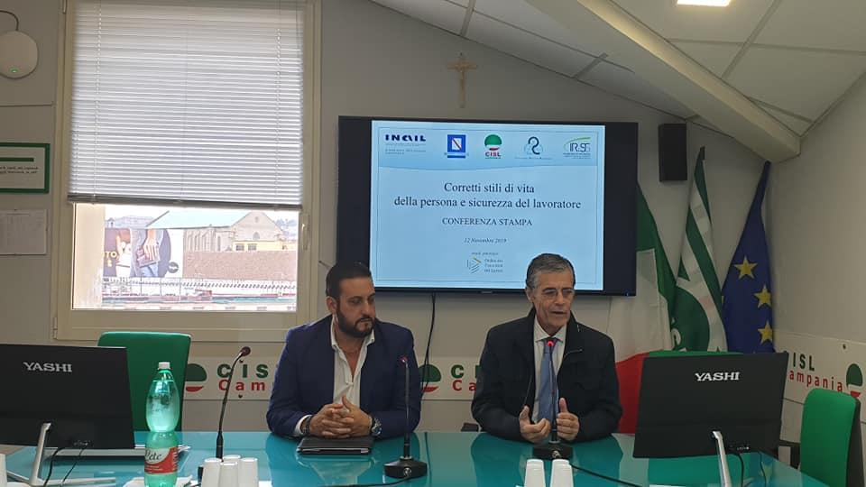 Corretti Stili Di Vita E Sicurezza Sul Lavoro Fare Programmazione Per Evitare L Emergenza Cisl Campania